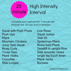 High Intensity Interval